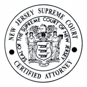 new jersey supreme court certified attorney seal